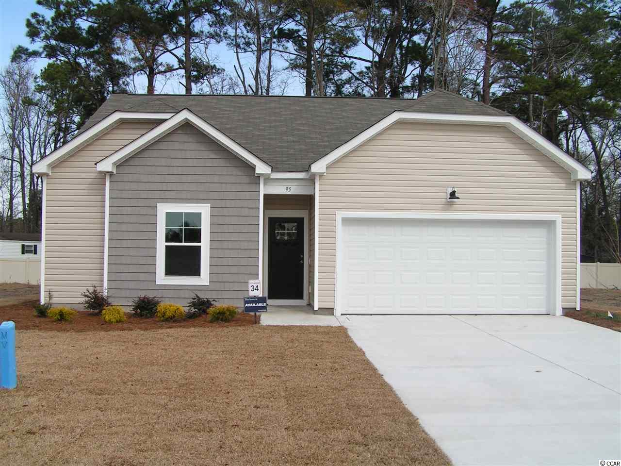 "This home is to be built home in the sought after community of Pawleys Cove, options and upgrades will vary as built. Pawleys Island is a famous seaside historic town known for it's carefree and laid back style with unspoiled beaches, eclectic dining, and challenging world-class golf gourses galore!  There's also great amenities close by to enjoy like bike trails, community parks, natural gardens, and local creeks for crabbing and fishing. With 7 open and uniquely designed home plans, these well-appointed homes offer a tremendous style and value with the tranquility of Pawleys Island as the backdrop.  Pawleys Cove will be a great place to make your memories happen.  This is the ""Patriot"" plan with an open concept family, dining and kitchen area and the laundry room is just off of kitchen with a linen closet.  Great storage in this home with all bedrooms having walk-in closets!  Pictures in this listing are of a similar home with options and upgrades and not the actual home.  All information is deemed reliable but not guaranteed.  Buyer is responsible for verification."