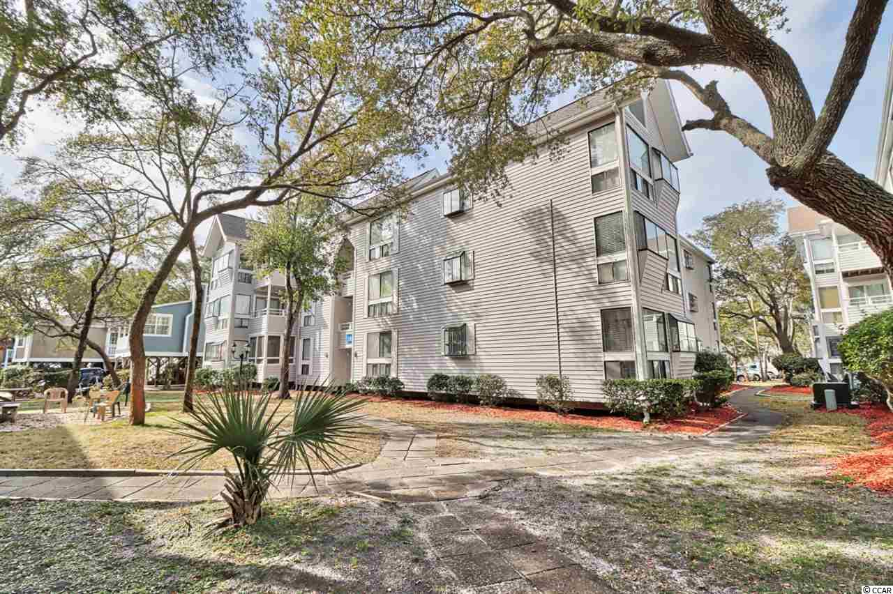 This is a recently renovated 1st floor 2/2 condo located in EZ walking distance to the beach. Renovations included new Kitchen cabinets, new granite counters, new stove, new fridge, new built in pantry. New floors, new hot-water heater. New HVAC Jan 2019. Most of the windows replaced.  All of this in a community known for its many amenities. 2 Pools, Jacuzzi, Steam, Sauna, playground, Owner fitness room, BBQ areas all over complex, Sports bar, and Arcade.