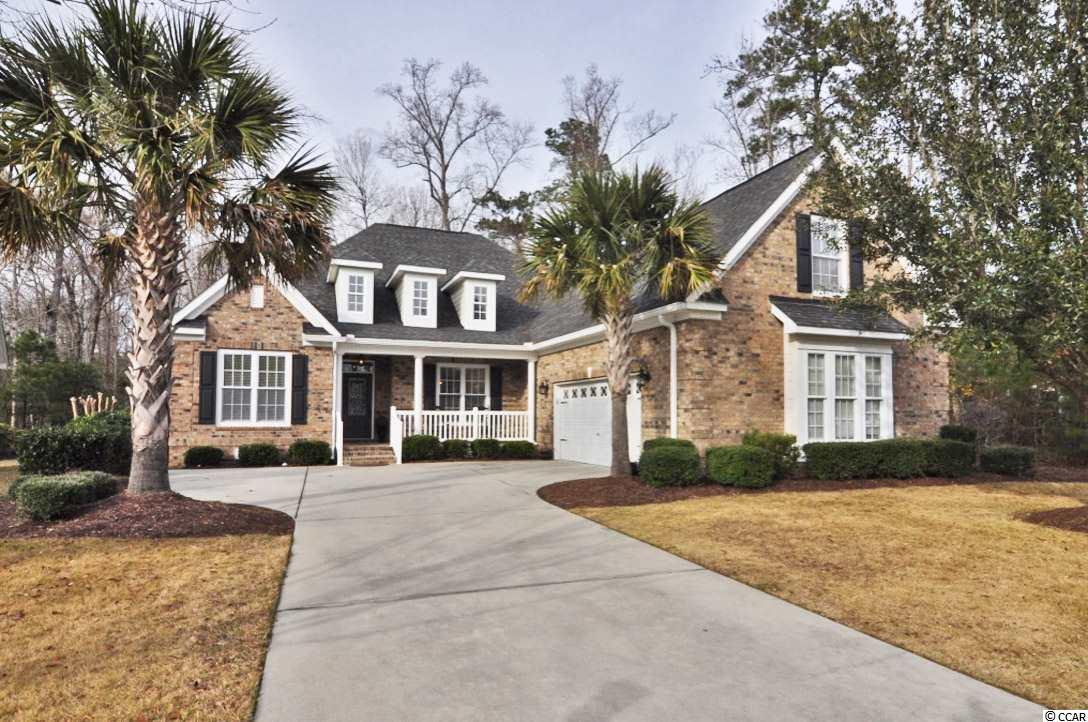 This is a great find in the Waverly Bay section in the Bays of Prince Creek in Murrells Inlet! Suitable for buyers at any stage of life, with only a bonus room and bathroom over the garage, this mainly one level living home will certainly impress! From the newly installed wainscoting to the gorgeous wood floors, your family and guests will love this wonderful floor plan home.  With five bedrooms, use one as an office/den/playroom/workout space, and still have plenty of space for kids or visitors. This brick home has a massive master suite that any homeowner would fall in love with! With two separate vanities, whirlpool tub, huge walk-in shower and even larger master closet, you will not be disappointed that you put this property on your list to come see! Entertain your guests in the open floor plan with an over-sized screen porch and extended back deck in this private back yard space.  The built-in surround sound is also a nice touch to this freshly repainted home. The Bays of Prince Creek is an amazing community close to all attractions on the South Strand and has even more amazing amenities.  Two large pools, clubhouse, dog park, playground, tennis courts, outdoor fireplace, security, guard gates, and more. Make sure to call the listing agent, or your Realtor, to get more information on this property, or to schedule a showing.