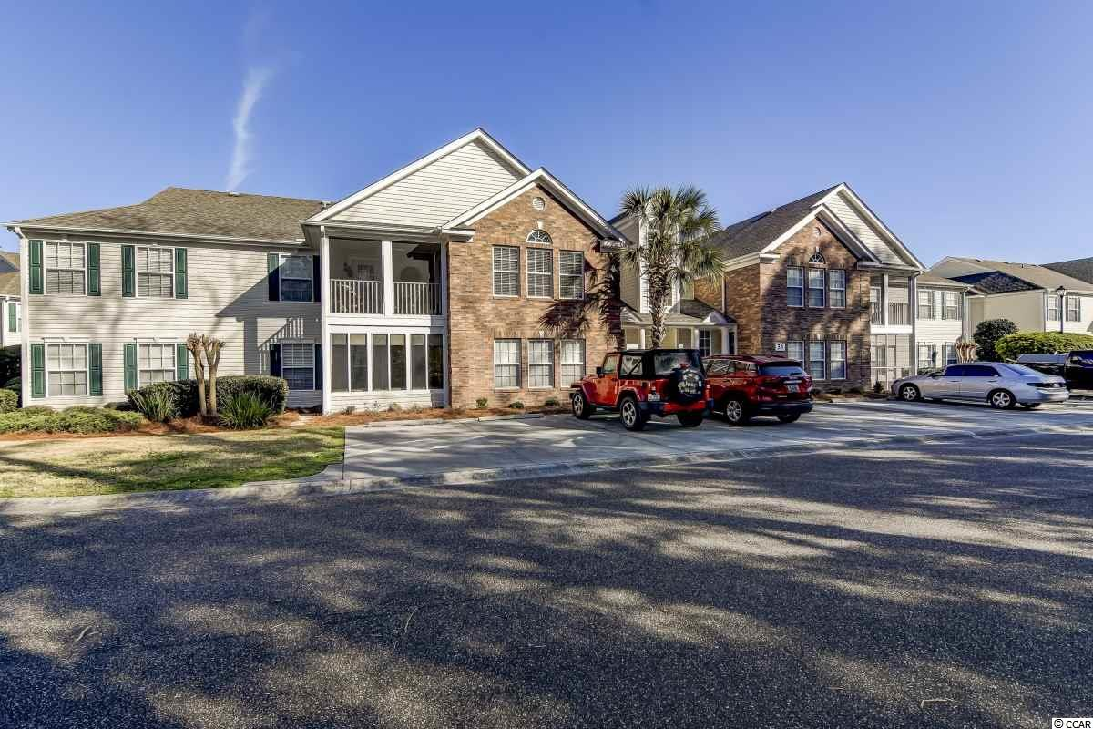 Superb 2 bedroom 2 bath condo in Sterling Pointe of Murrells Inlet less than 10 minutes from the beach!! This lovely condo is a first floor, end unit which means extra windows for more natural light! The main living area is very open and spacious with gorgeous hardwood floors. Off the living room the porch has been converted into is a 3 Seasons Room with floor to ceiling windows! The kitchen has a good amount of cabinet and counter space, a pantry, and a breakfast bar. The roomy master bedroom has a two closets, a larger walk-in closet and a secondary closet that could also be used as a linen closet. In the master bath you will find double sinks on a large vanity, a glass door shower, and a deep garden tub! There is an additional bedroom, a second full bath, and a laundry room as well. Sterling Pointe has a community pool and is close to lots of great golf courses, restaurants, and entertainment. Sterling Pointe is located less than 10 minutes from the Murrells Inlet Marshwalk or Huntington Beach State Park and less than 15 minutes from the Garden City Pier!!
