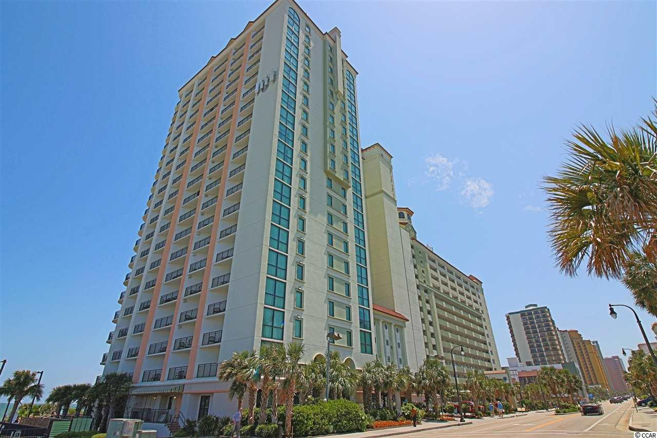 AMAZING VIEWS IN THIS SPECTACULAR 3 BD / 2 BA OCEAN FRONT CONDO AT THE POPULAR CARIBBEAN RESORT. SEE THE SHIMMERING ATLANTIC FROM THE BALCONY OFF THE LIVING ROOM. AMENITIES INCLUDE: WATER PARK, INDOOR/OUTDOOR POOLS, TIKI BAR, GIFT SHOP AND MUCH MORE! EXCELLENT LOCATION WALK TO SHOPS, RESTAURANTS, AND ENTERTAINMENT. GREAT RENTAL INCOME! DON'T MISS THIS OPPORTUNITY!!!
