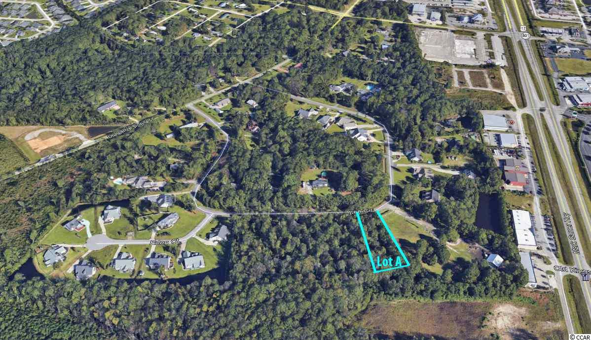 It's all about location for this .92 acre residential lot located just off of Hwy 17 Bypass in Lee Circle in Murrells Inlet. This is a great opportunity to own a residential lot in the heart of Murrells Inlet that is not in a subdivision. Lee Circle is conveniently located behind Hwy 17 Bypass just off of McDowell Shortcut Rd. This is not located within a subdivision so you have endless options on the type of home to build. The adjacent lots are also listed and can be combined. All information is deemed reliable but not guaranteed. Buyer is responsible for verification.