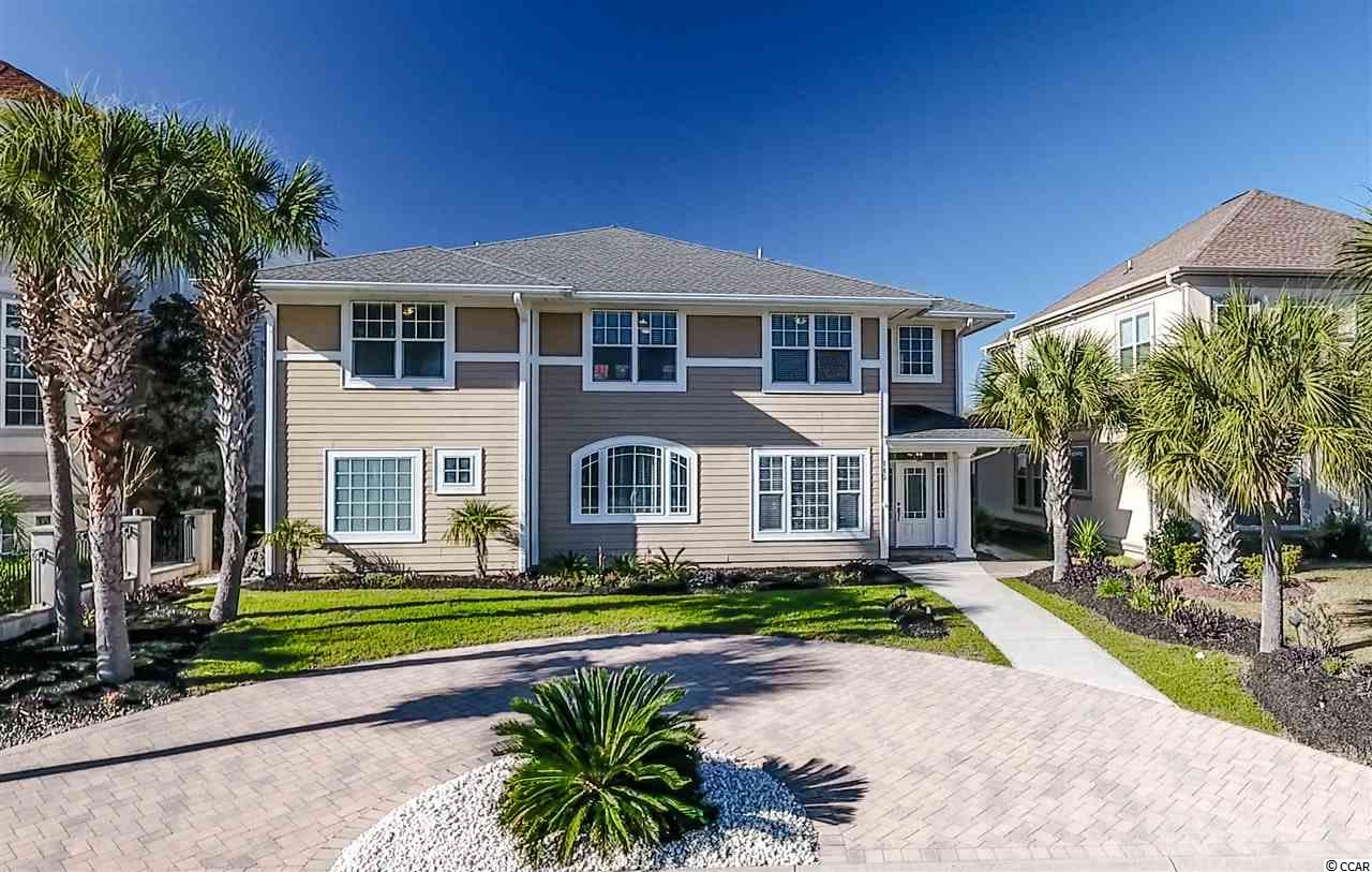 Welcome to the Bluffs on the Waterway at Carolina Forest! This easy to show, custom built luxury home, features a premier street location with intracoastal waterway views, 20 ft foyer, open floor plan, floor to ceiliing fireplaces, two glass-walled living areas, one having a kitchenette, upgraded kitchen cabinets and granite countertops, large island, all solid floorings, first floor master with glasswall/fireplace/jacuzzi and a marble shower. This perfect primary or vacation home also features a split floorplan, 1,200 sqft of covered, columned porches with possibility for a heated converstion, rear alley access with detached garage, custom paved walkways and driveways, suitable for 6 cars, room for a pool, upgraded 2ft eaves with gutters around the entire home and so much more! Come see this truly stunning home before it's gone! The Bluffs also has a well appointed amenities cente with its own boat landing and storage and is centrally located with quick access to Hwy 31, shopping, restaurants, award winning schools and the beach. Come see this truly stunning home for yourself before it's gone. Schedule your showing today! All information is deemed reliable but not guaranteed, buyer is responsible for all verification.