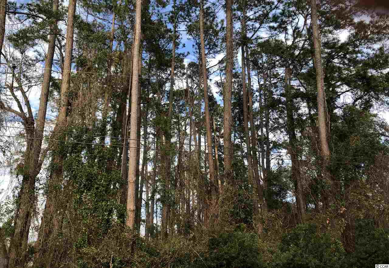 Beautifully wooded corner lot in the Ocean Terrace section of Surfside Beach, East of 17!  It's an excellent time to build your dream home!  No HOA.  Build when you are ready!  Golf cart or bike to beach.
