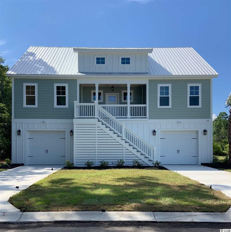 BRAND NEW HOME!! UNDER CONSTRUCTION!! Beautiful new custom floor plan! This raised BRAND NEW beach style home offers 3 bedrooms, 2.5 baths and an Upgraded flooring package to include Luxury Vinyl Tile Floors & Carpet. Home offers a Golf Cart ride to the beautiful beaches of Pawleys Island. Parking and plenty of storage underneath and a beautifully landscaped yard. This home is perfect for the Pawleys beach bum that does't want to pay the high prices on Pawleys Island!