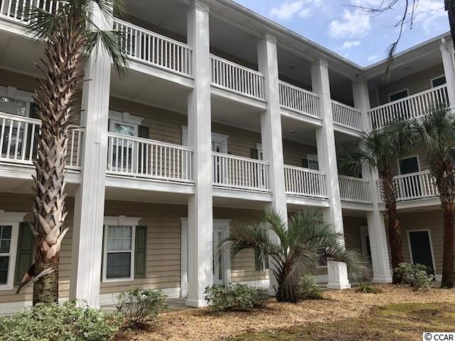 This 1st floor, two bedroom end unit is located in Murrells Inlet in the Courtyard at Sweetwater Community located east of 17 Hwy Bypass. The unit was totally renovated in 2014. All new custom cabinets, granite counter tops, stainless steel appliances, hardwood floors, ceramic tile, all new interior 5 panel doors, toilets, ceiling fans and light fixtures. The HVAC was replaced in 2019. The building is located at the end of the cul-de-sac which is the most private. Owners enjoy outdoor pools, walking and bicycling. You can enjoy all Murrells Inlet has to offer which includes restaurants, beach, golf, shopping and just minutes from the airport. HOA includes cable and Wi-Fi.