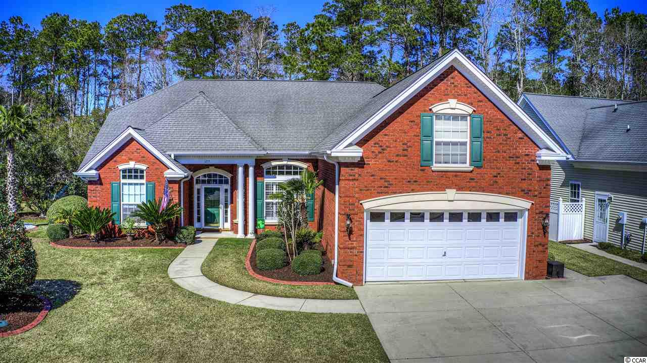 The salty sands, endless entertainment, golfing, fishing, water sports, shopping and let's not forget the wide array of dining options; this home is Minutes from it ALL! Situated on a Quiet Cul-De-Sac Street and backing to a wooded area of the 18 Hole designer golf course; International Club, this home will give you the relaxed southern coastal lifestyle you've been dreaming of. Located in the Award Winning Saint James School District.  Inside the home, you will find an OPEN FLOOR PLAN where the Master Bedroom and Two Additional Bedrooms are on the main floor.  Upstairs you will walk into a large sitting or living area/playroom/office with a half bath and large bedroom. This space would make an excellent Mother-in-Law Suite! Intercom system throughout. The home and landscape are well maintained and the TRAIN HVAC SYSTEM is top notch for those hot summer nights. Low HOA which includes a large Olympic Style Pool with walk-in entry, Fitness Center, Private Library, Playground, Clubhouse, and Personal Trash Pickup! Whether you're looking for a home to raise the children, a home to retire and relax in, or just a change in scenery and lifestyle then this home might just be for you!