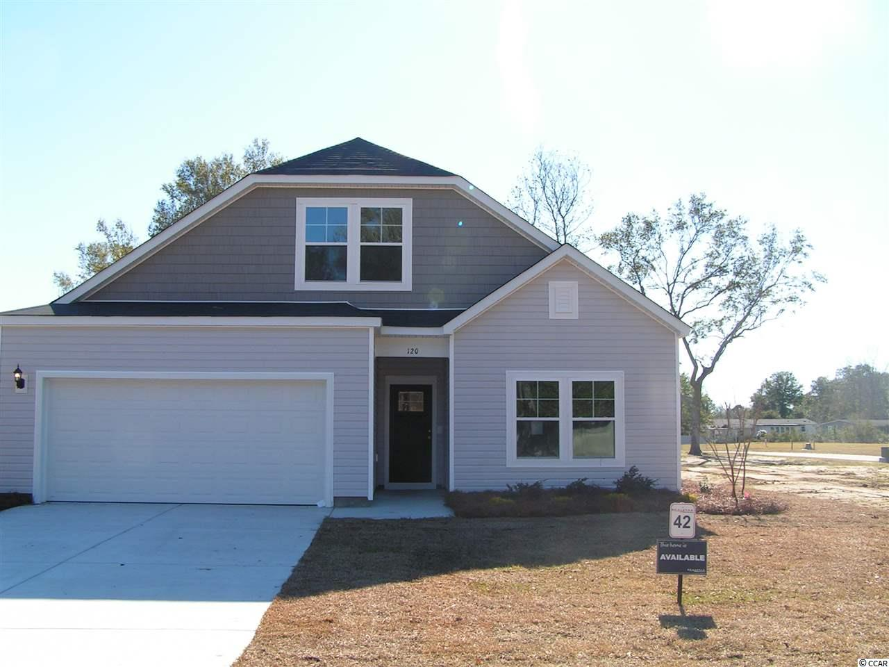 This home is To Be Built in the sought after community of Pawleys Cove, opens and upgrades will vary as built.  Pawleys Cove is a quaint community nestled in the town of Pawleys Island, a famous seaside island known for it's carefree, laid back lifestyle with a rich history and timeless culture.  There are many outdoor activities like crabbing, fishing, kayaking, and bike trails as well as popular attractions like Brookgreen Gardens and Huntington Beach State Park.  The Continental plan is a beautiful 2 story home with 3 bedrooms down and 1 bedroom and a loft upstairs.  An open concept family, kitchen and dining area with a large work island makes this a great home for entertaining guests!  The owner's suite is 17' x 13' and features a large walk in closet and a linen closet in the owners bath. Pictures in this listing are of a similar home and not the actual home and options and upgrades will vary as built.  All information is deemed reliable but not guaranteed.  Buyers is responsible for verification.