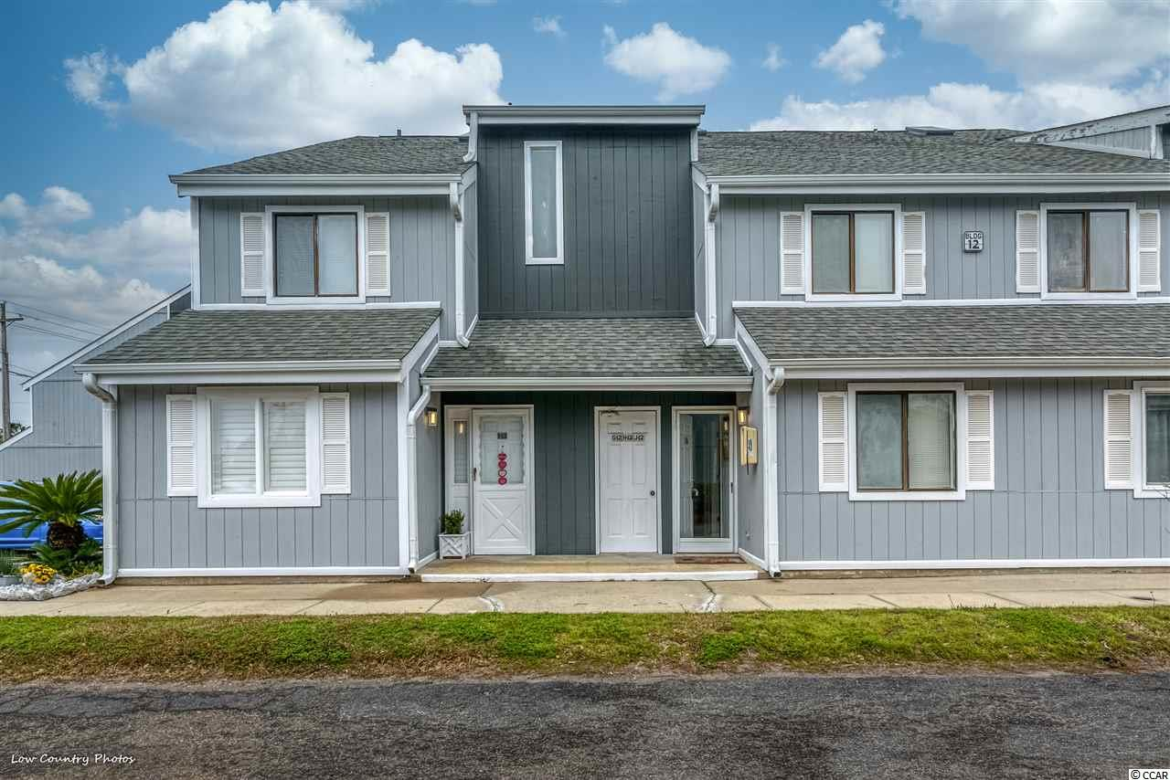 This adorable one bedroom with loft town home is the perfect place if you are looking to downsize or need a home away from home that is within minutes of shopping, dinning and the Atlantic Ocean. You will be pleasantly surprised with how much space there is in this unit and home inviting the decor is. The kitchen offers a great amount of work space and storage including a separate bar area. You will find the loft to be spacious and the perfect place for guests or turn it into your master suite. The balcony off the living room is the perfect place to start your day or unwind in the evening. If you are looking for a quaint townhouse with a pool view and convenient location this is one you will want to see. Square footage is approximate and not guaranteed. Buyers responsible for verification.