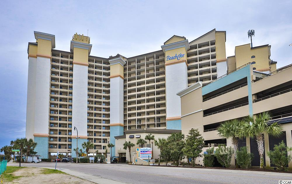 "Year after year Beach Cove is one of the most popular resorts on the north strand in Windy Hill, both for enjoyment and income. This true one Bedroom, one full Bath Oceanfront Condo has been meticulously maintained and is turn key for another great rental season or for your personal enjoyment. With two queen beds and a sleeper sofa, it's comfortable for the whole family. The Kitchen area has a full size refrigerator, a 2 burner range, a microwave and beautiful cabinets. There is a ""step-down"" into the Living area.  Enjoy spectacular sunrises from your balcony and take in the ocean air!  Beach Cove boasts one of the finest pools in the area including their famous pool bar.  Amenities galore await you and your family or use it a rental either way you will not be disappointed.  An easy walk to Barefoot Landing and tons of great restaurants and shops so you never have to get in your car."