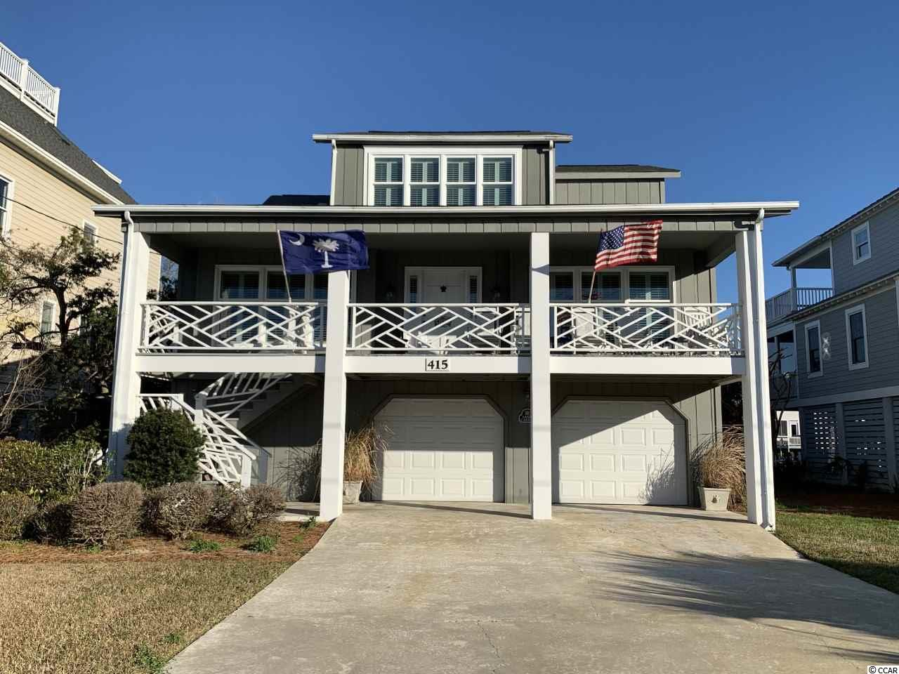 "415 Sportsman Drive is located along Sportsman Canal to the east and  the creek and marsh to the west in highly desirable Litchfield Beach.  Litchfield Beach is known as the ""Golden Curve of the Grand Strand "" ! Named so for it's gently curving stretch and beautiful golden appearance created by the sun-kissed beach and by the golden yellow sea oats that grow wild in the dunes ! This beautiful spacious 4 bedroom, 4 bath home has its own private dock on Sportsman Canal, so you can jump in your boat for a day of fishing and exploring in the creeks and ocean ! The beach is just a few minutes walk across the beautiful arch bridge over Sportsman Canal or a short bike or golf cart ride away. Endless family fun on the beach and in the creeks enjoying God's abundant wildlife and nature ! Golf, shopping, restaurants,  the Intracoastal Waterway and Brookgreen Gardens are all just about five minutes away ! Come enjoy all that beautiful Litchfield Beach has to offer !"