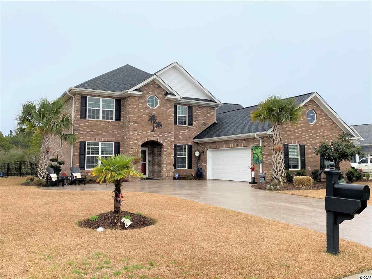 Stately Home to be built in Prestigious Cypress River Plantation. Water View, Cul-De-Sac lot.  This Gated Community is Located in the Award Winning St. James School District Just Minutes from the Beach, State Park, Murrells Inlet Marsh Walk, and Restaurants.  Amenities include Clubhouse with Fitness Room, Pool Complex, Tennis Court, Basketball Court, Playground, Boat Launch, Day Dock.  This Two-Story Plan Features A First Floor Main Bedroom Suite W/ Spacious Bathroom W/Double Sink, Tiled Shower & Tub.  Kitchen Features Soft Closing Doors & Drawers, Granite Tops, Tile Backsplash, Undercabinet Lighting & Granite Breakfast Bar.  Second Floor Has 3 Bedrooms, 2 Full Baths, & Optional Bonus Room.   Quality Construction By Seasoned Local Builder.  Finish Touches Include Tile Showers, Engineered Hardwood Flooring in Living Areas, Tile In Wet Areas.  Exterior Photo Is Of Another Existing Home Built By Same Builder. Sq. Footage Estimated Per Print, Buyer To Verify.