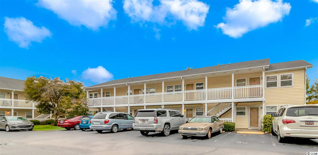 """Check out this updated, first floor, one bedroom condo conveniently located only 10 minutes to the beach. This move in ready condo is a great rental investment or for a full time resident. There is a brand new wall unit installed for the heating and cooling. Located on the first floor with assigned parking right out front. Enter the beautiful condo through a storm door to an open concept living room, dining room and kitchen. The gorgeous kitchen was recently renovated and boasts granite countertops, backsplash, tile floor, stove, microwave, dishwasher and fridge/ freezer with a ceiling fan. The quaint dining area is attached to the kitchen. The living room features a custom tile floor and ceiling fan. Next the bedroom has lush carpeting and a ceiling fan with a closet. The bathroom is located off the bedroom and features a tub/ shower combo with sink and vanity. There is also a washer and dryer that convey. Throughout the condo are 2"""" blinds. Currently there is a monthly tenant in place. The homeowner associations dues are very low and paid monthly. The dues include water/ sewer, trash, building insurance, pool service, and pest control. This community does allow homeowners and tenants to have pets and motorcycles. Only annual rentals are allowed. The quiet Mallard Creek community features a nice relaxing pool with a paver patio and a fabulous playground perfect for the children. Tucked away just minutes to the Little River waterfront, home of the world famous blue crab festival and various dining, shopping and entertainment. Very reasonably priced and ready to sell, be sure to add this condo to your list today!"""