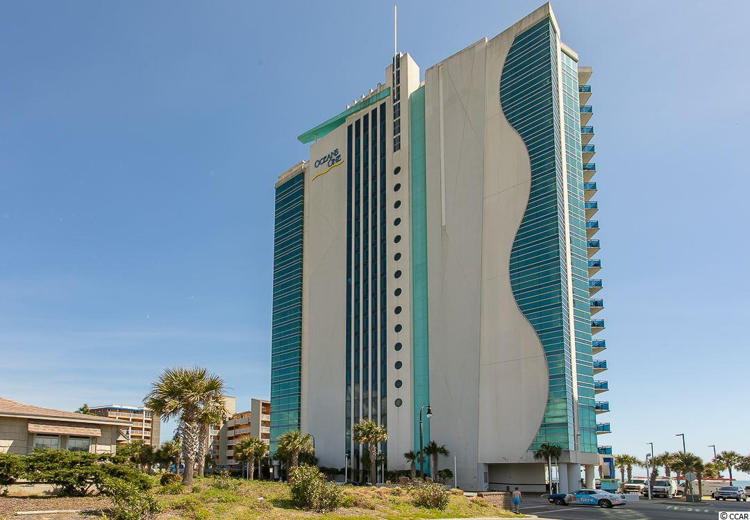 Don't Miss Out! Contemporary Upscale 1 Bedroom Direct Oceanfront in highly desirable Oceans One Resort located in the heart of Myrtle Beach!  Enjoy magnificent unobstructed views of the ocean and sea coast from this 18th floor condo. The bedroom offers two queen size beds & the living room also includes a murphy bed, allowing the unit to sleep up to 6 people! Full kitchen with granite counter-tops, stainless steel appliances and an in unit washer/dryer. Relax in one of many pools available, walk on the sandy beach, take a dip in the ocean or grab some sunshine on the spacious sun deck.  Amenities includes fantastic indoor and outdoor pools, hot tub, lazy river, kids interactive splash area and sun deck. High earning investment property or excellent vacation getaway!