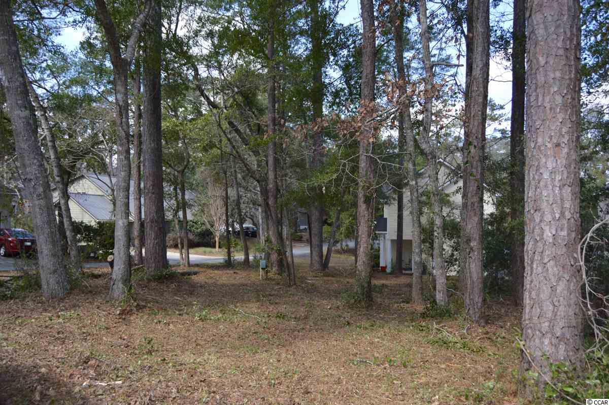 Beautiful wooded lot in the always popular Windjammer Village!  This ICW community has amazing amenities and affordable POA dues.  Clubhouse with library, meeting and fitness rooms, Olympic size pool, playground, basketball court, tennis and shuffleboard, pier, boat ramp, two floating docks and boat storage.  Subdivision location is perfectly located near beaches, shopping, dining, golf and schools.  Lot has public water and sewer available.