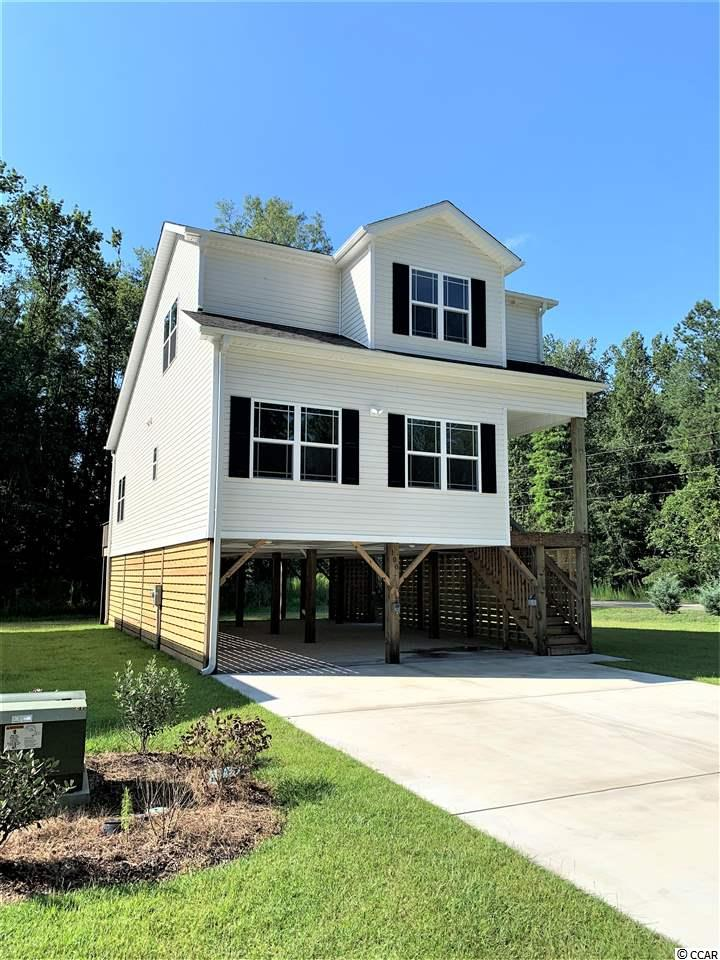 This is one of two model homes we have built in the Riverfront community of Black Water Cove. Come see this lovely 3 bedroom 2 bath home with upgraded cabinets, granite counter tops and more. This community is 15 minutes to the Conway Historic Riverwalk & 20 minutes to the sunny beaches of Myrtle & North Myrtle.