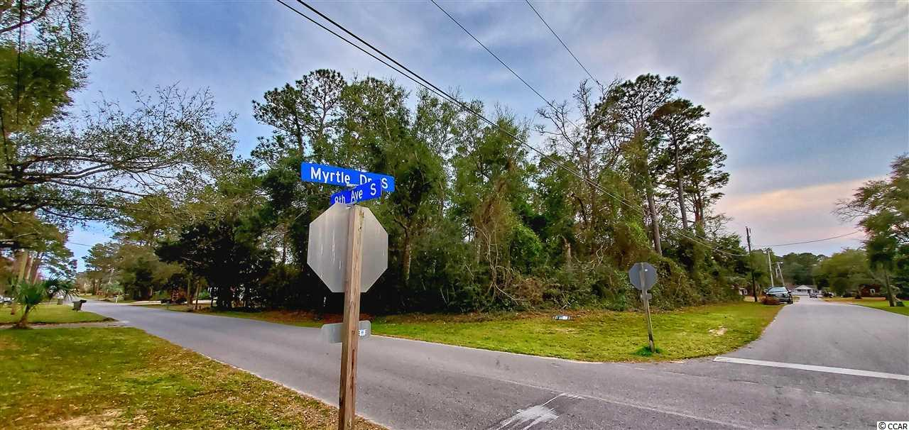 Fantastic corner lot in the Ocean Terrace section of Surfside Beach on the corner of 8th Ave S and Myrtle Dr S just blocks away from the beautiful Atlantic! Minutes to shopping, dining, entertainment and golf; and just a short ride down to historic Murrells Inlet fishing village.