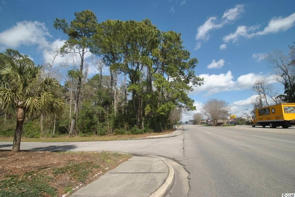 1.62 acres zoned highway commercial located in the heart of North Myrtle BEach on Highway 17 South. Current wetlands letter on file