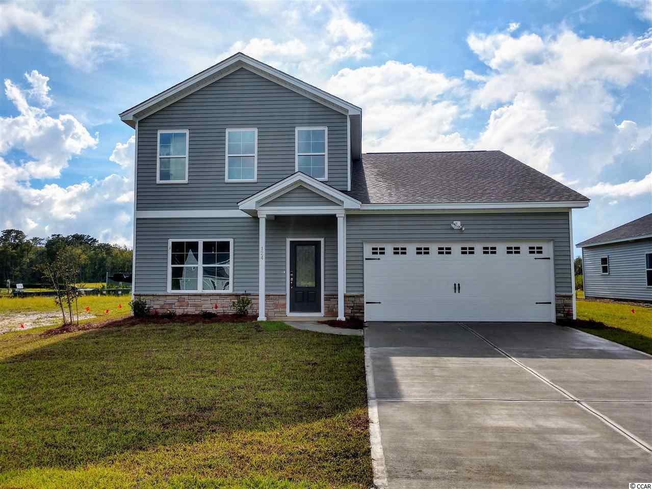 Now Selling in Sugarloaf with a pool on site! Just a few minutes from Myrtle Beach and North Myrtle Beach, in Carolina Forest School District, shopping and the beach! This Pickens plan has 2,431 htd sq ft, featuring an open family room/kitchen combo area, a flex room/office/dining room, 4 bedrooms with the master down, a large walk in attic and a loft upstairs. Stainless GE appliances with gas range/oven, wood-look easy care Luxury Vinyl Plank flooring in all the common areas downstairs, and lawn irrigation system completes this great home! All measurements are considered accurate, but not guaranteed, buyer to verify. Other included features: Advanced Framing; Natural Gas! Gas heat; Tank-less gas hot water; Recessed Ceiling lights in Kitchen; GE Appliances; Kitchen Granite counter tops; Programmable Thermostats; 9' ceilings on first floor; Energy Efficient with LED bulbs, 14-SEER HVAC system, Air Barrier, and Sealing; Architectural Roof Shingles; Vinyl siding with Lifetime Warranty. Photos are of a Pickens in another Mungo Community.