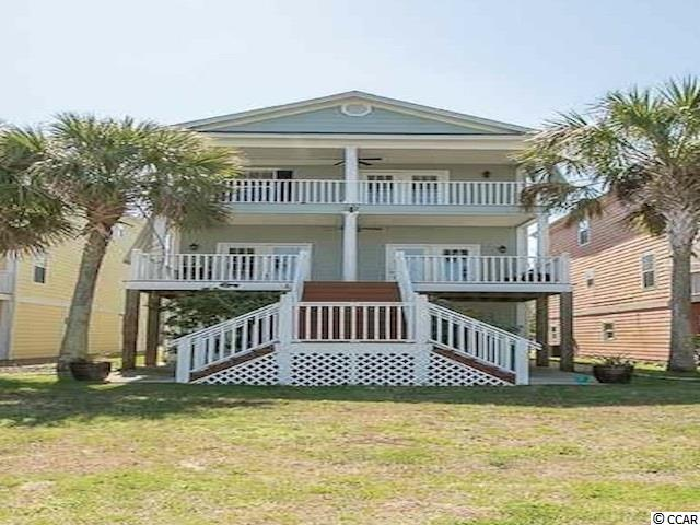 Easy to see... One of the best oppprtunities to own a beautiful home on the Intracoastal Waterway. Hidden Harbor is a small gated community close to all that Myrtle Beach has to offer.  10 a minute drive to the International Airport and Coastal Grand Mall that offer restaurants and shopping. Also within a 10 minute golf cart ride to Market Common!!! Private boat lift, dock and community ramp makes this development a boaters dream. Enjoy the beautiful sunsets either from the great room balcony or the master bedroom balcony while watching the boats travel up and down the Intra-Coastal Waterway. The Kitchen is open to the Dining area and great room giving you optimum views!!! There's plenty of storage in the expansive 3 car garage that also has a storage or a workout center...your choice. Newly painted concrete plank exterior rises above a professionally landscaped and maintained lawn. If you are looking for a boaters dream, this home is a must to see before you make your final decision!!!