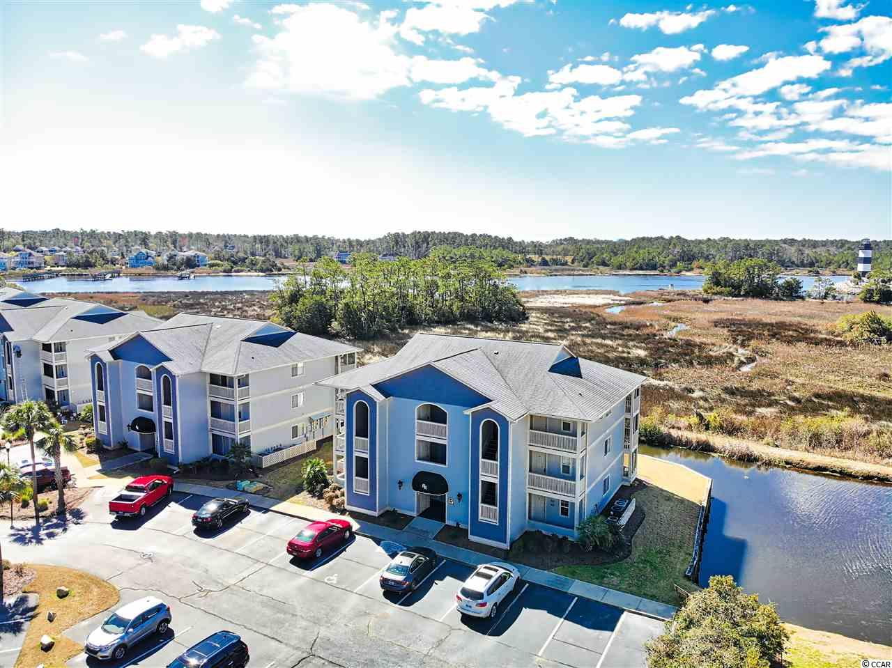 Look no farther... whether you are an investor or just searching for a beach getaway, this one is it!  Come enjoy the breathtaking views of the marsh, Intracoastal Waterway, harbor and The Governor's Lighthouse from this third floor, one bedroom, one bath, furnished condo.  Located in Harbour Ridge, a gated community that is a true hidden gem with swimming pool, hot tub, picnic area and large screen pavilion on the Intracoastal Waterway.  This condo comes complete with furniture, stainless steel appliances, washer/dryer and more! The HVAC system was replaced in March 2019.
