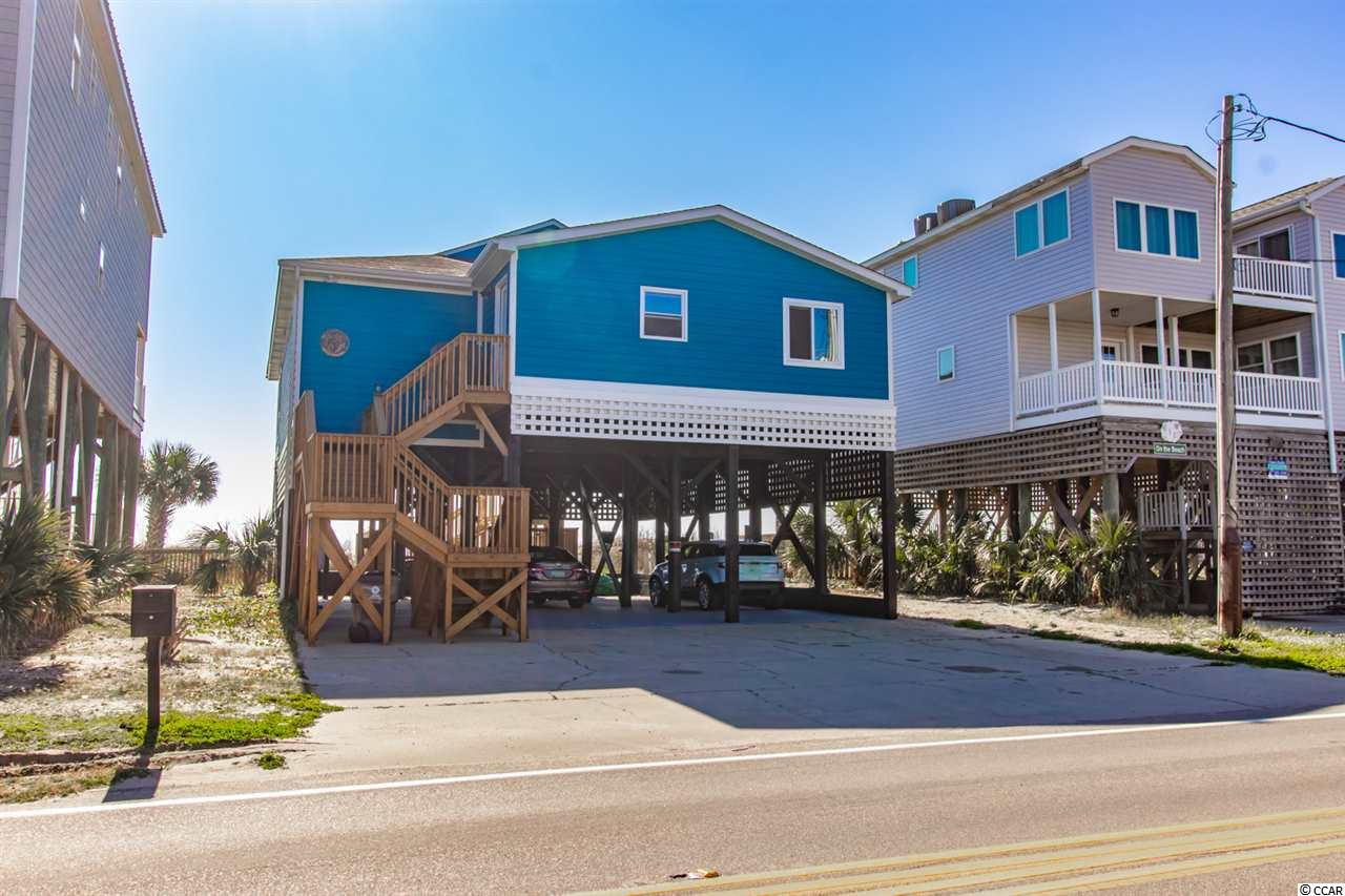 Fantastic views of the ocean and the inlet, with wall to wall windows from floor to ceiling on the beach side of the subject property. Home was built in 1970 and was completely updated in 2017-2018. It boasts 3 bedrooms 3 bathrooms, a large oceanfront sitting room with views of Garden City pier to the south.  Enjoy entertaining in the large kitchen which overlooks the family room and ocean. This is a true beach home and not a over-sized rental mini motel.  Renovated for your enjoyment only. Enjoy connecting with friends and family and getting back to basic while you recharge in this super cute Beach House.