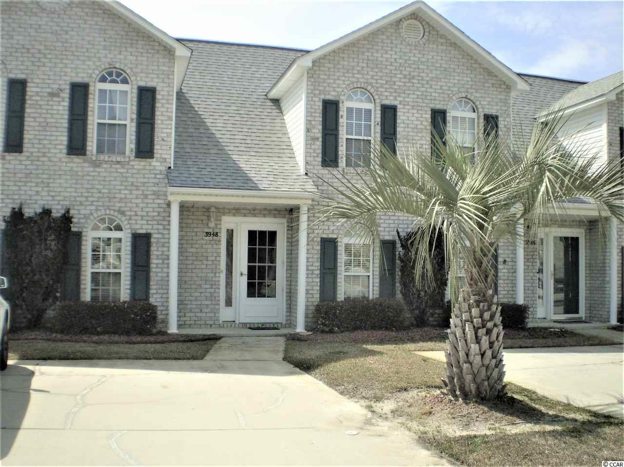 "This well kept Townhouse is conveniently located near all the amenities of Little River and just a few short miles to the ocean. Hardwood floors add beauty to the open concept of the Living/Dining area. The front windows have hurricane film installed for additional safety. Don't let the fact that this is only a 2 bedroom unit defer you. Upstairs area was designed for easy completion to make this a 3 bedroom unit, however the space makes great place for extra storage. Imagine yourself lounging by the pool on warm sunny days. This home also offers a screened in porch as well as a patio for outside entertaining. All kitchen appliances as well as washer and dryer convey with the home. Property is being sold ""As-IS""."