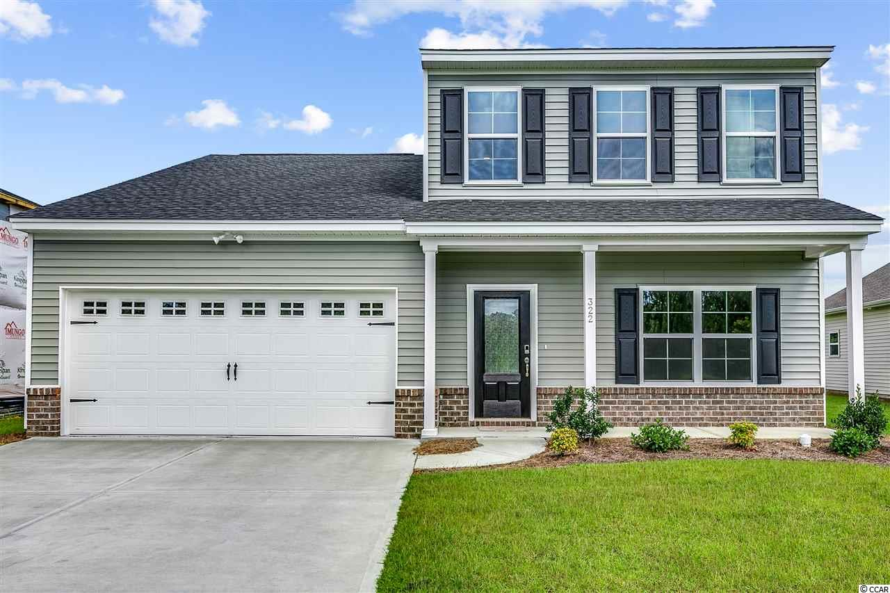 New Community with a Pool! Now Selling in Sugarloaf! Just a few minutes from Myrtle Beach and North Myrtle Beach, in Carolina Forest School District, shopping and the beach! This home is 2,431 htsqft and features an open family room/kitchen combo area, 4 bedrooms with the master downstairs, an office, walk in storage over the garage,  crown molding, and a loft upstairs. It also, comes complete with granite counter tops and LVP flooring in all the common areas downstairs. All measurements are considered accurate, but not guaranteed, buyer to verify. Not the right home? We offer 4 other home plans,from 1,655 to 2,771 Htd SF, 3-6 bedrooms, 2-4 baths. We have the home that will meet your needs! All homes have 2 car garages. Included features: Advanced Framing;Natural Gas! Gas heat; Tank-less gas hot water; Recessed Ceiling lights in Kitchen; GE Appliances; Kitchen Granite countertops; Programmable Thermostats; 9' ceilings on first floor; Energy Efficient with LED bulbs, 14-SEER HVAC system, Air Barrier,and Sealing; Architectural Roof Shingles; Vinyl siding with Lifetime Warranty. Photos are of a Pickens in another Mungo Community.