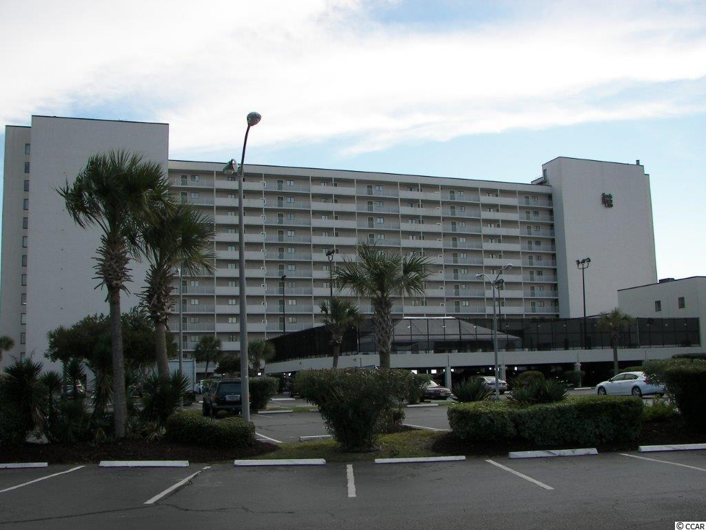 Sands Beach Club II is a spectacular ocean front resort located in the very popular Arcadian Section of Myrtle Beach. You and your guests will enjoy the many amenities offered by the resort which include basketball courts, a fitness center, tennis courts, volleyball, and an indoor/outdoor pool. Unit 915 is a beautiful ocean front 2BR and 2BA condominium and it is being sold fully furnished.  As you leave the elevator and approach the front door, you will appreciate being able to walk through the enclosed hallway that protects you from the elements.  Inside of unit 915, the oceanfront balcony has direct access from both the living room and master bedroom and provides a 180 degree panoramic view of the South Carolina coast line.  In addition, the master bedroom has the added features of wall to wall windows giving you a spectacular view of the Atlantic Ocean.  The kitchen is open to the living room allowing anyone preparing food or drinks to remain a part of the activity, as well as providing a beautiful view of the ocean. There have been a number of recent upgrades to this unit.  In 2018 the stove, refrigerator, and hot water heater were replaced and in 2017 the same was done with the dishwasher and garbage disposal.  Also, in 2017 the entire unit was repainted including the walls, trims and doors.  The new popcorn ceiling finish was also completed at that time. Other upgrades in the kitchen were the beautiful granite counter tops and the stainless steel recessed double sinks.  In addition, throughout the unit 16 x 16 inch ceramic tiles were installed.  The Shore Drive area has been very popular to vacationers for many years because of its convenient location to shopping, including the Tanger Outlets, Barefoot Landing, Broadway at the Beach, Market Common and the Myrtle Beach Grand Mall. Challenging golf is just minutes away no matter which direction you drive, and family entertainment such as the Alabama Theatre and the Carolina Opry remain must go destinations.  You can also enjoy an endless choice in dining experiences which are just minutes away. Come see Sands Beach Club II 915 today. Square footage is approximate and not guaranteed and the Buyer is responsible for all verification.