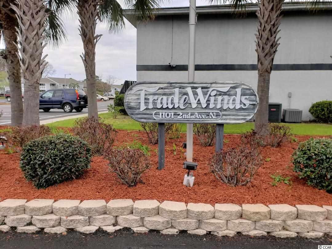 Welcome to the non-smoking Unit 0f 903 in the highly sought after condo complex of Tradewinds I. Whether you're looking for a Primary home, a 2nd home or an investment property, you won't be disappointed by this first floor condo. The current owners bought this unit in mid 2014 and up until recently, they only used it sparingly and they never rented it out. Once you enter the unit, you'll feel right at home and will be extremely pleased with all of the Updating and remodeling that has been recently done. The building exteriors will be repainted in a year or so. New trim color will be White and the buildings will either be CORAL or a SOFT YELLOW. Please ask your agent for a copy of the sheet that will list all of the things that have been replaced. Oh, yes, don't forget this important item----Tradewinds I is just a short distance to the beach, shopping and restaurants galore. This is the ONLY UNIT AVAILABLE in Tradewinds I and won't last long. All measurements and information are not guaranteed and need to be verified by the buyers for accuracy.