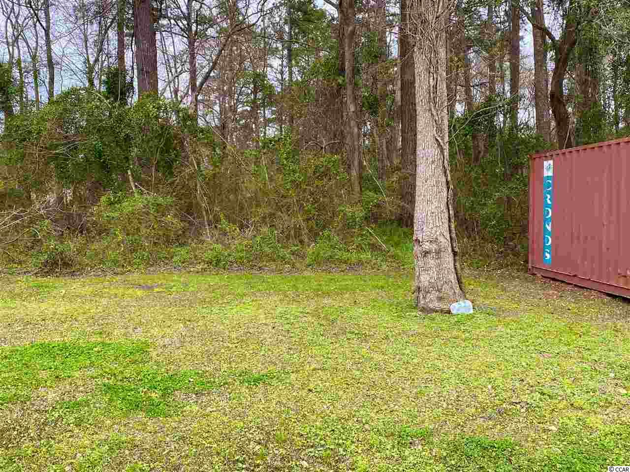 Large 1/3 of an acre building lot with flexible CFA zoning (manufactured, mobile, modular, or stick built homes, and many more are all permitted uses). Commercial buildings are also permitted. Convenient to shopping, Little River waterfront, hospital, and Cherry Grove beach. NO RESTRICTIONS/NO HOA. Seller is licensed Realtor.