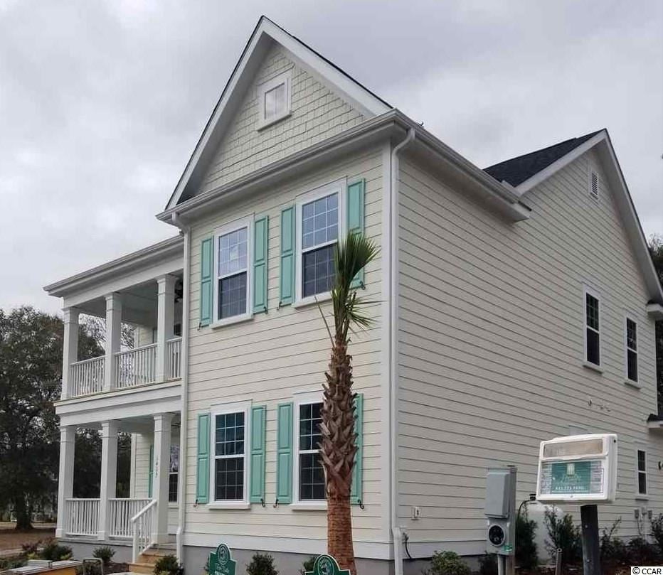 Located in Charleston Landing just minutes from the beach. Clients can choose from a selection of upgrades for their home. This plan has the master bedroom on the first floor, and also features a bonus room.