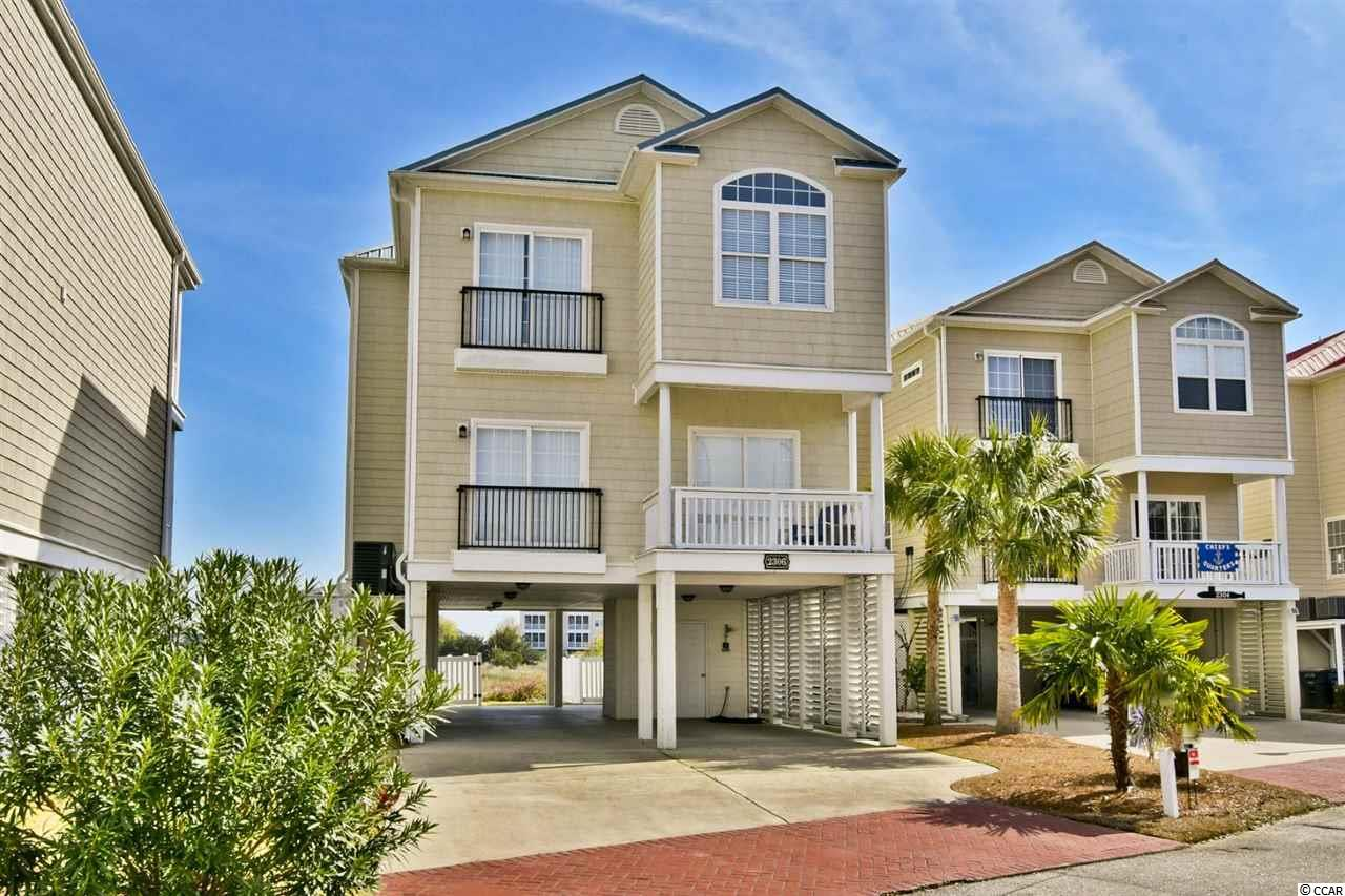 Welcome Home to Pointe Marsh! Outstanding value on the Cherry Grove Marsh. Watch the Cranes, Blue Heron and Water Fowl from you incredible 5BR/4BA home with elevator. Balconies off almost all the rooms, light and airy. Only 3 blocks to the beach and offered at a fraction of its value!  Just walking distance to shopping, dinning, and so much more! A Must See at a Great Price!