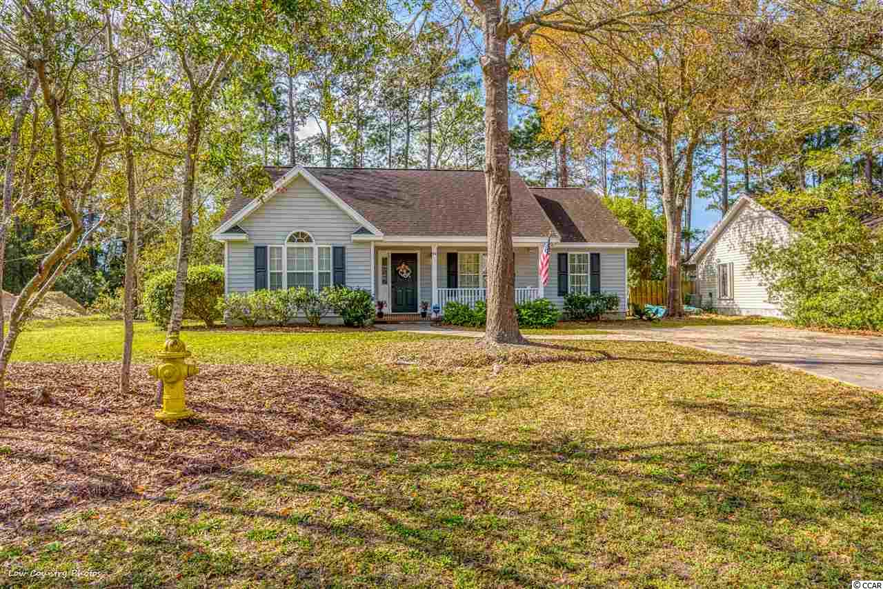 Located in the ever-popular Pawleys Retreat, this 3 bedroom, 2 bath home awaits it next owner.  94 Great Lakes is located on a quite cul-de-sac and borders the Waccamaw High baseball field for added privacy.  This home has almost been completely renovated.  Upgrades include new HVAC, hot water heater,  flooring throughout, granite counter-tops, stainless steel appliances and fresh paint throughout.  Both the kitchen & living room are highlighted by vaulted ceilings. The open, airy kitchen / dining area offers a great space for entertaining. The exterior offers a large backyard great for outdoor activities and place for the family dog run.  Enjoy the convenience of living within walking distance to both Waccamaw High & Elementary Schools.
