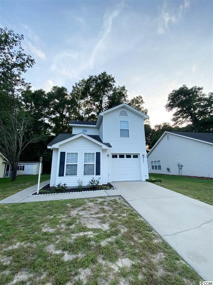 NO HOA in the heart of Little River! Come see this 3 bedroom, 2 bath home! JUST FRESHLY painted (august 2020) to all neutral gray colors, and painted garage!! Open Floor plan with Master on the Main floor, and laminate flooring. All appliances, including washer and dryer remain with home! Partially furnished! Centrally located and just a short golf cart ride or drive to the Intracoastal Waterway, Waterway Restaurants, Golfing, Grocery, Shopping, The World Famous Blue Crab Festival, The Casino Boat, Live Music and more!