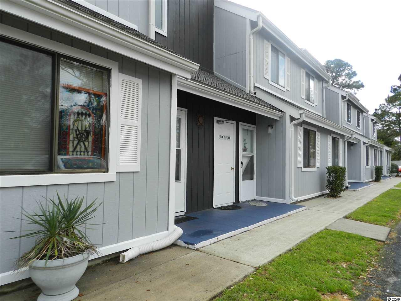 A two bed/two bath END UNIT and generously sized condo located in one of the fastest growing areas in Horry County - Little River! Open concept, spacious, modern condo with vaulted ceilings and a large balcony overlooking the pool!  Fresh wall paint throughout and durable vinyl plank flooring makes this condo superbly move in ready! Refrigerator, range, microwave, dishwasher all to remain.  Bright and airy with skylights and a newer patio sliding door. HOA includes building insurance, basic cable, water, sewer, trash, indoor & outdoor pool, landscaping, pest control, common ground maintenance and lighting. Located within minutes of Cherry Grove Beach & Pier, shopping, restaurants, public boat launch and parks, Hwy 17, Hwy 31, Hwy 9 and Robert Edge Parkway...all SO, SO CLOSE!  All listing information is deemed reliable, but buyers are responsible for verification. Contact your agent today to see Baytree Golf Colony unit 24P!