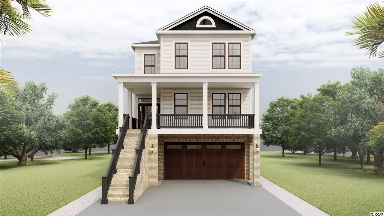 Amazing opportunity to get in your direct Intracoastal Waterway dream home! This 5 bed 5 bath custom home is ready to start construction! A few features include quest/in-law suite on the ground level with a elevator to all Three floors. A game room with a separate kitchen that leads out to your outdoor kitchen & pool with beautiful sunset views over the waterway. Second floor will be your large living & kitchen open floor plan with a walk-in pantry, wet bar and amazing tray ceilings. Third floor will have your master with two large walk-in closets, resort style bathroom and waterway views from your private deck or windows. This home will have too many features to list! Contact agent for more details! Get in now to pick your personal touches on the interior!