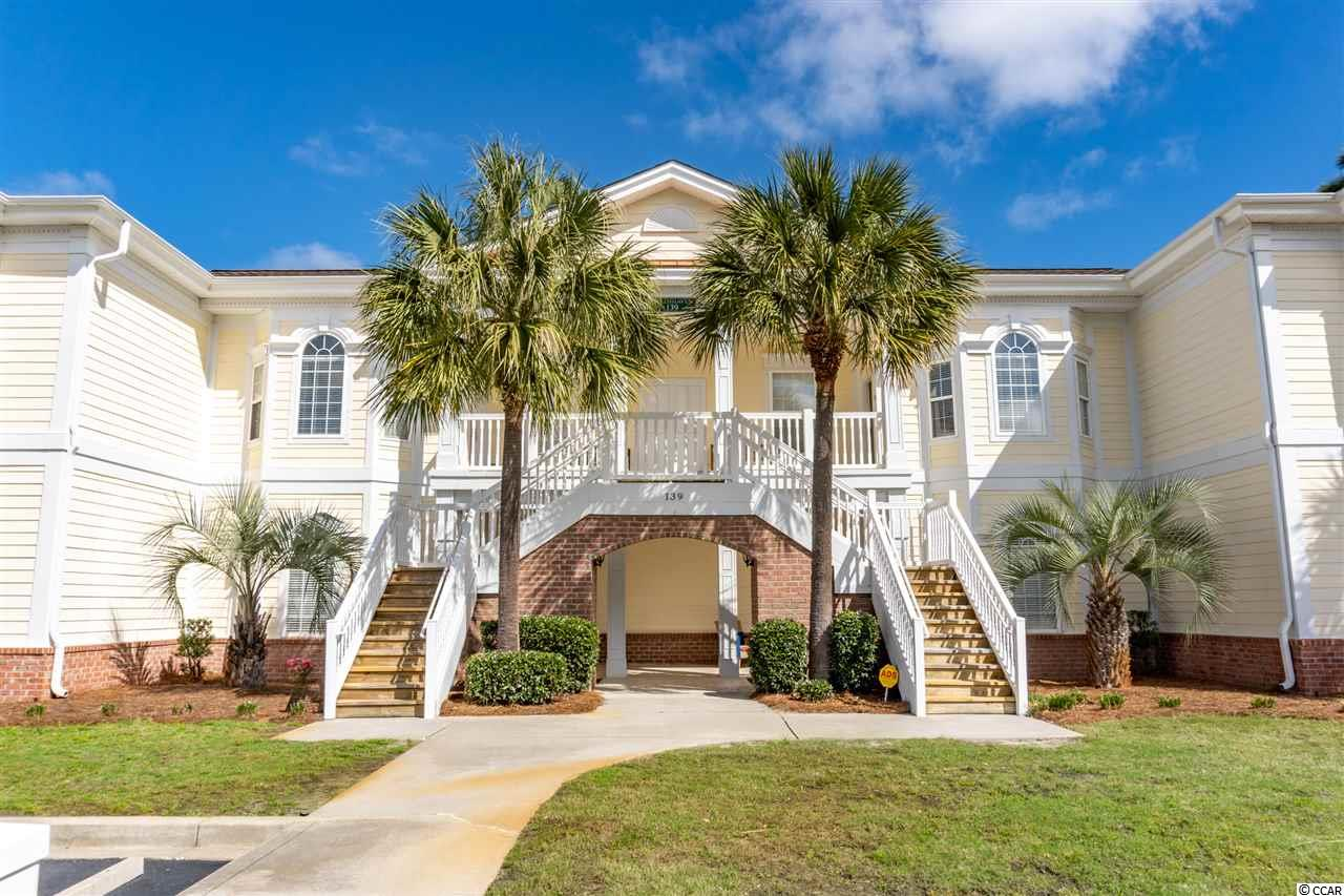 BACK ON THE MARKET. Last buyers loss is your gain!! You will be hard pressed to find a more beautiful 4 bedroom, 3 bath condo in Pawleys Island. Avian Forrest/Green Haven is one of the most popular condo communities in the area.  Offering a huge 1850+ heated square foot condo, which include a 2 bedroom with a Jack n Jill bath to accommodate your  family and friends. This condo also features a  single car garage, (an ideal place to store your golf cart)  and access to all the amenities that  Litchfield by the Sea has to offer. This gorgeous top floor condo features vaulted ceilings, ceiling fans in every room, wood and tile floors in the main areas, carpeting only in the bedrooms.  You'll see terrific filtered views from two screen porches. An idea place to enjoy morning coffee or an evening cocktail or two! Located in the QUIET section of Avian Forrest. Second floor units sold at a premium when first offered by the developer. No noisy footsteps clomping overhead! Enjoy the peace and serenity surrounding you. Only a 1 mile drive in your golf cart on a dedicated cart path takes you straight to the private beach club in Litchfield by the Sea. Plenty of golf cart parking, or bring your car if you prefer.  The club house and deck area offer the most spectacular views and enjoy a wonderful ocean breeze too. Bring your bottle of wine and meet your fellow neighbors enjoying this most ideal place to sit and enjoy the true low county experience.   The owners have recently replaced both HVAC systems (2020) and the water heater ( 2020) Beautiful new stainless appliances in the kitchen were added in 2019. There is a stackable washer and dryer in the unit as well. Although this has been a vacation rental, it has been used but not abused like many around. Avian Forrest condos are terrific rentals and this unit has has solid rentals in the 5 years these owners have owned it. Solid rental history and future rental reservations are  available upon request.