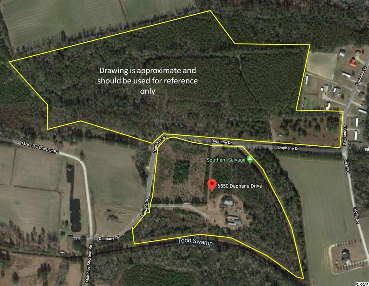 There are (7) 1/2 acre lots available zoned as MSF 14.5 for residential use of all collective structural categories, stick built, modular,and manufactured. Public Water/Sewer Available. NOT IN A FLOOD ZONE. Easy access to area beaches and amenities conveniently located less than a mile from the Highway 905/Highway 22 Junction. Excellent Tractfor residential community, RV Resort,Industrial,Commercial, Recreational uses and the like. The multi acre lots are Zoned PDD allowing for mixture of residential, commercial,office,industrial uses on this single site. Prime Development Tract other lots available totalling approx 50 acres. PDD parcels have been approved for Campground/RV Resort use but can be rezoned.