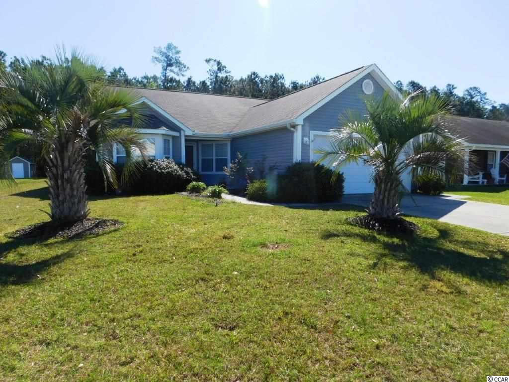 Drive up and feel the WOW at this Beautiful Monticello Model- 3BD/2BA/ 2 car garage  home located on large lot in desirable Lafayette Park. Walk into the front door to be greeted by a very open floor plan. The large kitchen offers all the appliances and a cozy breakfast nook to eat your breakfast. The laundry room is off the kitchen and has plenty of shelving and a closet for storage and includes the washer and dryer. Then venture into the family room that features vaulted ceilings for a more spacious feel. The family room offers two slider doors that opens to the screened porch or the back patio. These sliders help bring the outside inside for a bright and airy feel. You also have the privacy of trees as your back drop in your back yard. The master is large and has a large master bath that has double sinks, a walk in shower and 2 walk in closets. On the other side of the home you have two additional bedrooms that share a large full bathroom. The exterior home is just a great as the inside. You have a wonderful screen porch to view your large back yard and a patio for grilling and entertaining. Also, the large 2 car garage has shelving throughout for extra storage. The garage also includes a utility sink and a pull down attic space for even more storage. Amenities include Pool, Clubhouse & Community Pond. A Short drive to Little River waterfront for dining, boating, festivals & entertainment! This home has it all!!