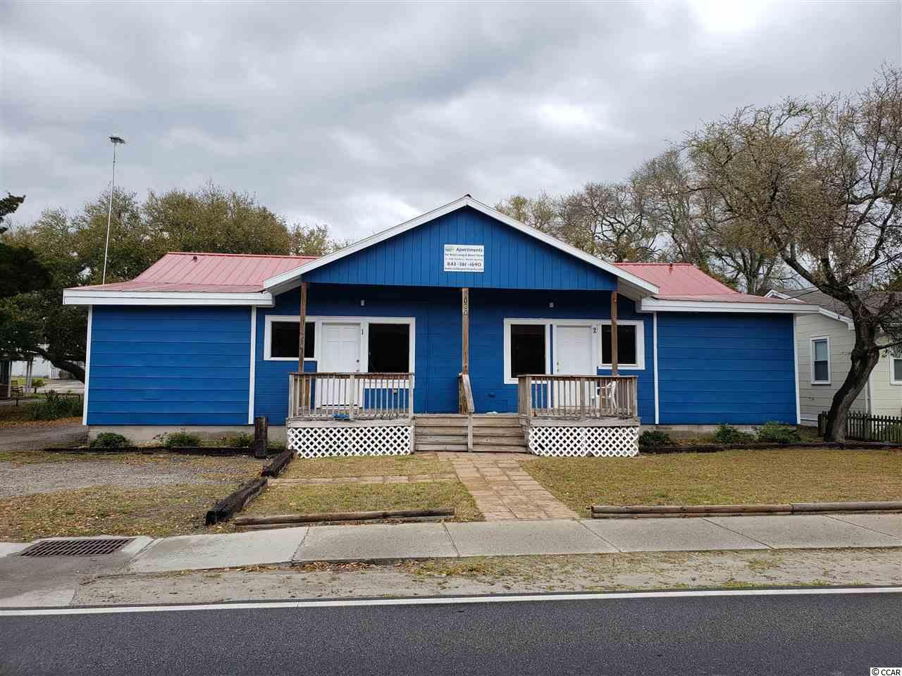 5 units structure built on a double commercial lot a block from the ocean and a short walk from Main St. in NMB.  The property was completely rebuilt in 2014.  New HVAC units, new metal roof, all is up to code. Four 1 BR / 1 bath units and one 2 BR / 2 bath units. Short term and long term rentals are allowed.  ***seller financing is available with an accepted offer.***