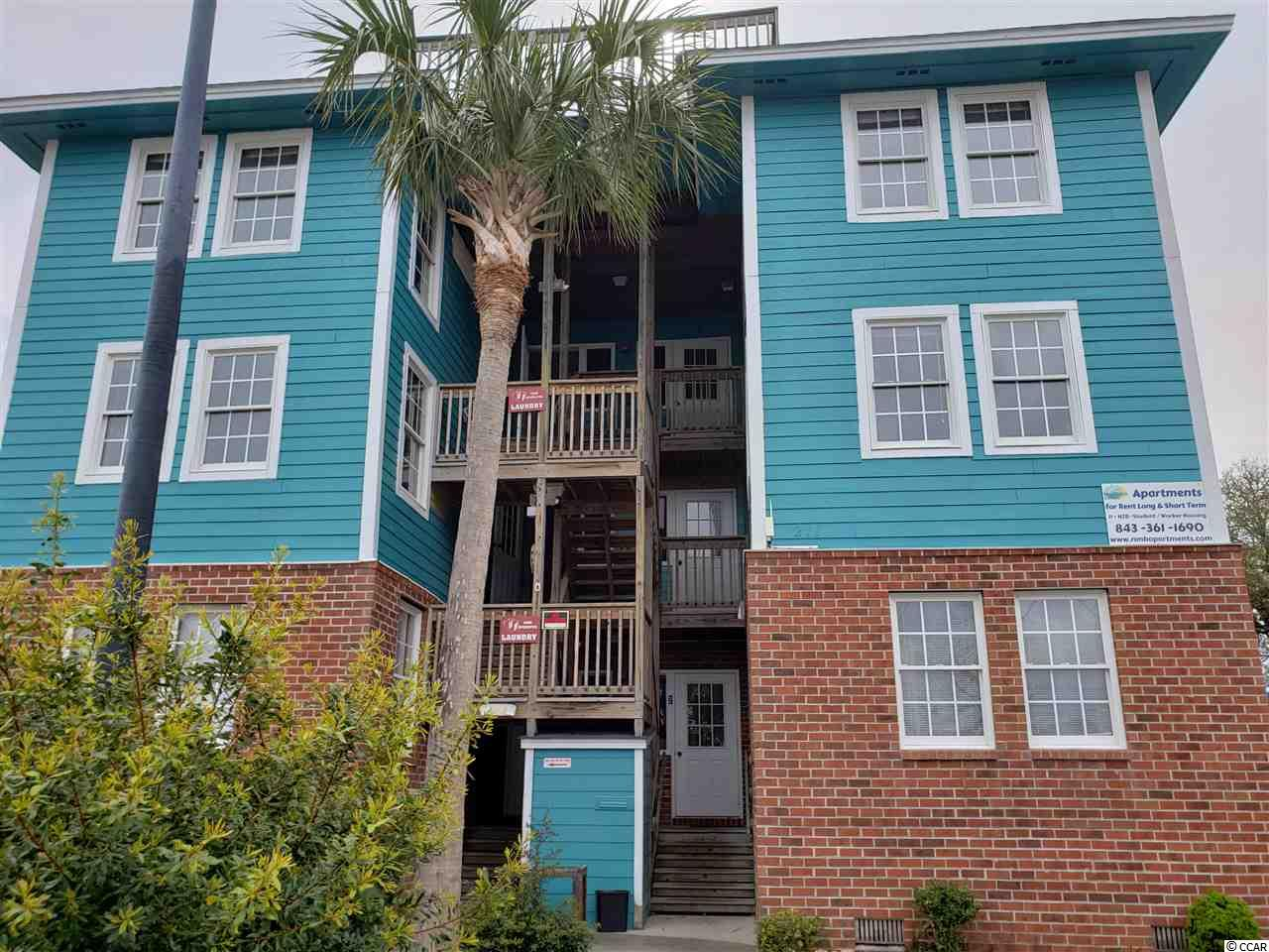A six unit building built on a commercial lot across from Ocean Blvd and behind Main St in NMB.  Built in 2003, six 2 bedroom units in a well maintained structure at  a prime location.  The seller has the building next door for sale as well.  ENTRY TO THE INTERIOR IS NOT AUTHORIZED!