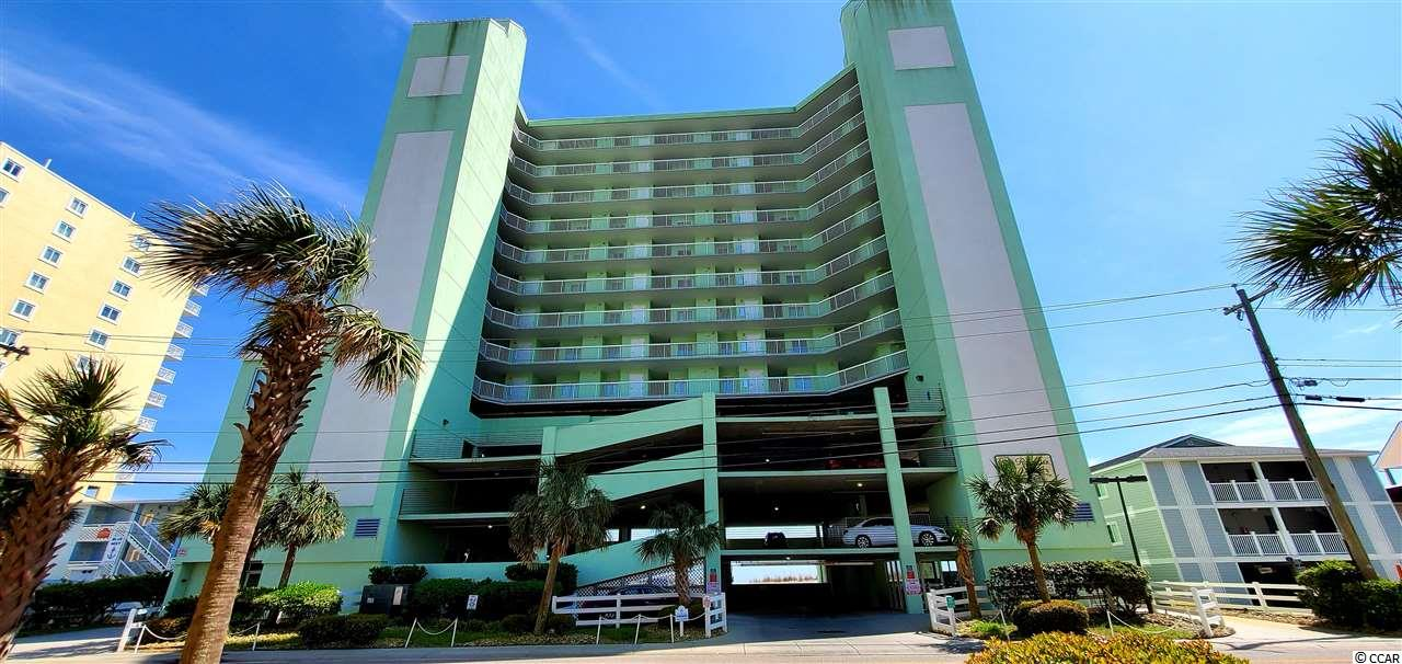 Great bright and airy end unit on the 8th floor of one of the finest buildings in Cherry Grove offers spectacular views of the Grand Strand,north and south! Access the long balcony from the living area or the master bedroom. Indoor and outdoor pools, a lazy river and a kiddie pool make this a great, family friendly resort. Located in one of the most desirable stretches in the Cherry Grove area, just minutes to shopping, great restaurants, exceptional golf, and entertainment. Or stay on the beach, walk to Hog Inlet, or just relax and soak up the sun. This 4BR/3BA unit accommodates a lot of people without giving up privacy. Take a look!