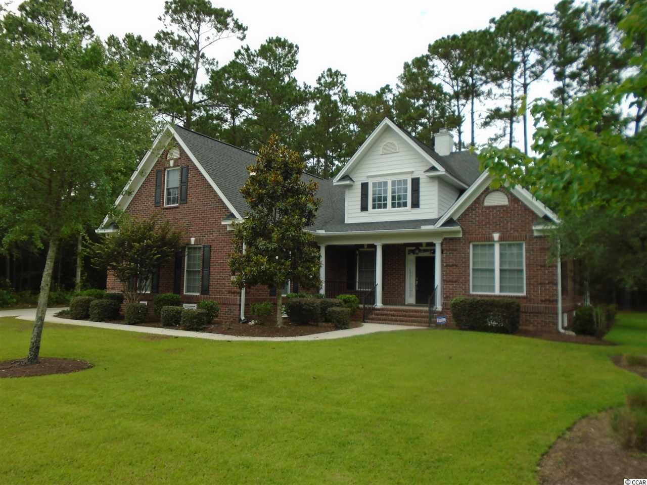 Fantastic opportunity to own this estate home featuring southern charm with 4 bedrooms, plus large 32x15 bonus room.  4th bedroom could be den/study and features french doors and a closet located on the 1st floor.  Open floor plan.  Perfect for entertaining.  Custom maple cabinets throughout.  Formal dining room, breakfast bar, and eat in nook.  Kitchen features island with prep sink, loads of counter space, pantry, under counter lighting, Frigidaire Professional Series S/S appliances (double wall oven), 5 burner gas stove, hood, and dishwasher. Oversized laundry room close to master bedroom.  Master suite features large sitting area, spacious walk in closet, and beautiful views.  Great room features open staircase and gas fireplace.  CATS hardwired for networking.  Relaxing front porch.  Finished 3-car garage with 8' high doors.  French doors from great room to 16x15 screened in porch wired for outdoor speakers and a large grilling patio complete with natural gas hookup.  Backyard offers privacy and a beautiful park like setting with view of woods from most rooms in the home and relaxing screened in porch.  Several young live oak trees.  Neighborhood features private boat dock, pool, basketball, children's play yard, and stocked ponds.  Close to the beach, shopping, restaurants, and all that Myrtle Beach and Murrells Inlet has to offer.  A must see.
