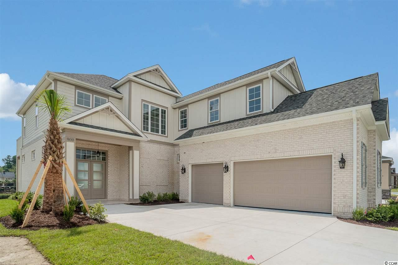 An opportunity to live the luxurious lifestyle in the Dirrect Intracoastal Waterway gated community of Carolina Waterway Plantation. CWP offers a community pool, private/direct access boat landing to the Intracoastal Waterway & boat area storage.   Relax and enjoy the privacy. 4 Bed 4 Bath OPEN Floor Plan with Beautiful Flooring throughout. Custom-designed Bathrooms & upgraded gourmet kitchen with Luxury level granite, with sparkling water feature views porches and balconies to in enjoy the summer breeze off the Water. The spacious kitchen opens to the dining area & the huge living room for ease & comfort! Great opportunity to live in a brand new home in the highly desired neighborhood Carolina Waterway Plantation.