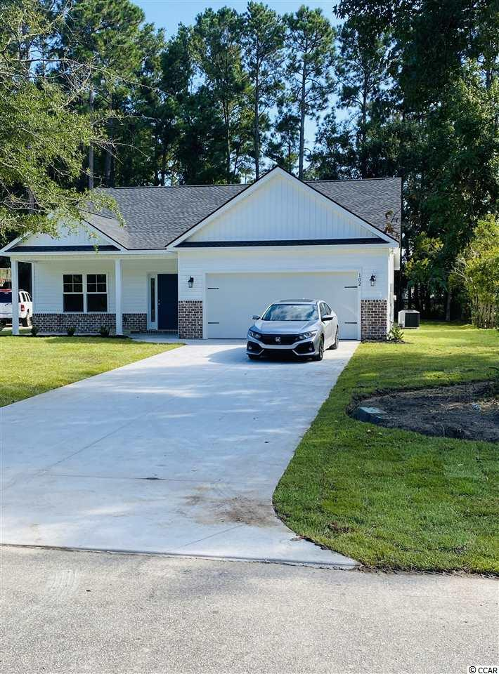 Brand New construction in desirable Pawleys Retreat!  The neighborhood offers a park, walking trails, and boat storage.  Additionally it is situated  for easy  access to Pawleys Island Beaches, Public Boat Landings and  Prestigious Golf Courses.  Home includes granite counter tops, double vanity in master bath, stainless steel appliances as well as  exterior brick accenting.  Best of all, this one checks the price box. Owner is SC Licensed Realtor