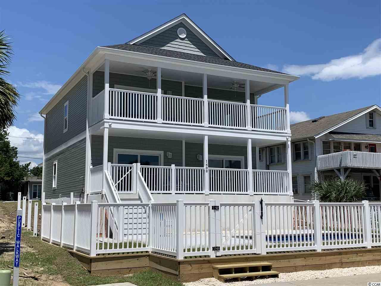RARE OPPORTUNITY !!!!  THIS NEW CONSTRUCTION 5 BEDROOM 4 BATHROOM 2ND ROW HOME HAS SPECTACULAR VIEWS OF THE OCEAN FROM BOTH FLOORS AND THE POOL AREA. PUBLIC ACCESS TO BEACH DIRECTLY ACROSS THE STREET. TWO LIVING ROOMS ONE ON EACH FLOOR WITH A WET BAR IN FIRST FLOOR LIVING ROOM WITH CONVENIENT ACCESS TO POOL AREA. AMPLE PARKING IN BACK OF THE HOUSE AND A SINGLE CAR GARAGE. WALKING DISTANCE TO OCEAN FRONT RESTAURANT/BAR AND TO A CONVENIENCE STORE. SHORT GOLF CART RIDE TO MAIN STREET WHICH BOAST MANY RESTAURANTS, SHOPPING, ENTERTAINMENT AND NIGHT LIFE. THIS HOME IS DUE TO BE COMLETE IN JULY 2020