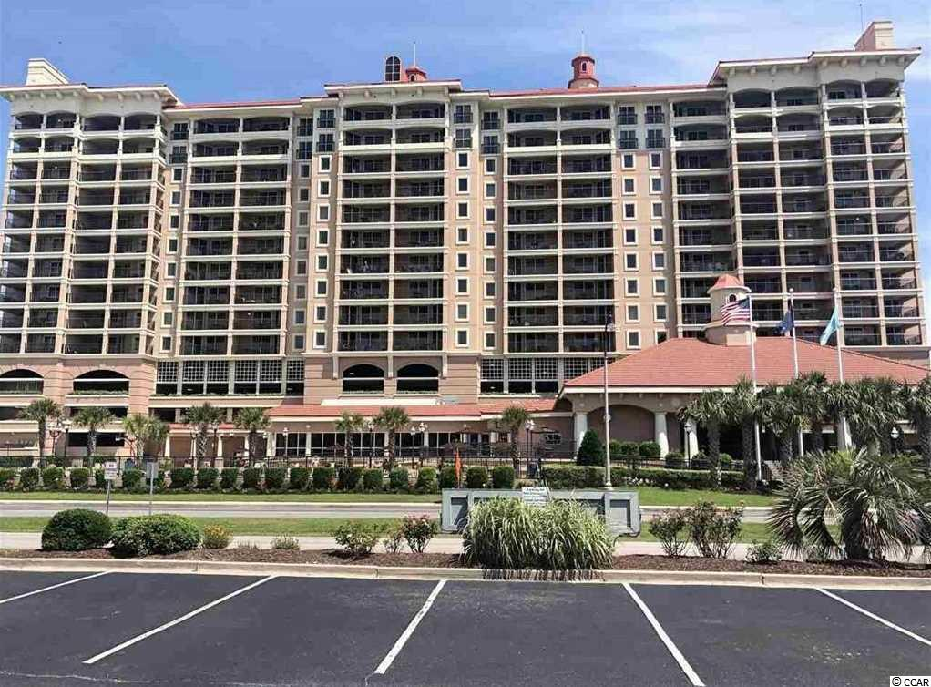 Presenting this gorgeous 3 bedroom 3 bath condo located in the prestigious Mediterranean-styled Tilghman Beach and Golf Resort. The views from the balcony of this 6th floor unit will take your breath away. Over looking Tilghman Estates in North Myrtle Beach and across the street from the beach. This condo has laminated wood, tile & carpet flooring, ceiling fans and a living/dining room combo with access to multiple private balconies. The kitchen includes granite counter tops, breakfast bar, flat top stove, built-in microwave, stainless steel refrigerator & dishwasher, and ample cabinet & counter space. The master bedroom showcases a sliding glass door that leads out to the spectacular balcony, access to the private master bath featuring vanity with a single sink comfort station and a timeless tub/shower combo. This inviting condo offers two additional bedrooms & baths, a laundry closet, and is completed with stylish furnishings. Tilghman Beach and Golf Resort also has first class amenities which include; heated in-door pool, out-door pool, exercise facility, lazy river, kiddie play area, hot tub, and an onsite bar and grill. This condo affords you easy access to the beach and golfing along with all of the other activities and happenings in North Myrtle Beach & Myrtle Beach including fun eateries, award winning off-Broadway shows, public fishing piers, and intriguing shopping adventures along the Grand Strand. Conveniently located to your everyday needs, including grocery stores, banks, post offices, medical centers, doctors' offices, and pharmacies. Check out our state of the art 3-D Virtual Tour.
