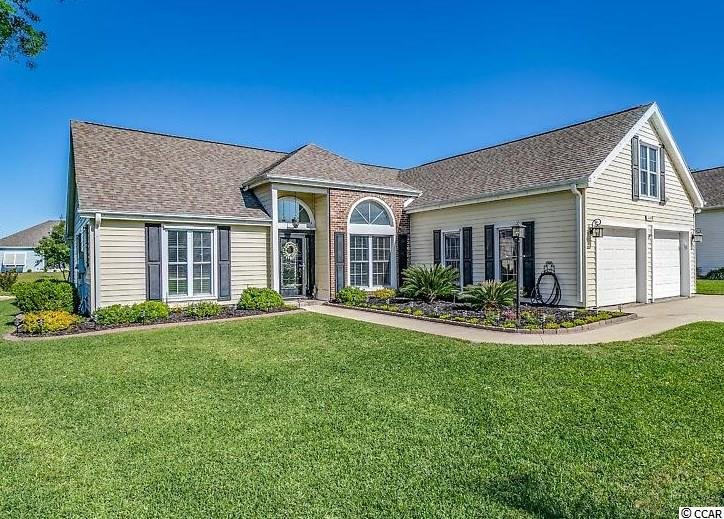 WHY CONSIDER NEW !! This TURN KEY home has so much more to offer than any new build! Located in the well-established neighborhood of Southwood in Surfside Beach. You can absolutely see the Pride of ownership shining thru this 4 bedrooms, 3.5 bath home with a Formal Dining room, Carolina Room and a private setting room/office off the Master Bedroom. Every room has been stylishly updated, including Renovated Bathrooms, Stainless Steel Appliances, Pergo Laminate flooring, Crown Molding, Chair Railing and Ceiling Fans are just a few of the upgrades that make this home stand out. The over sized two car garage even has a tiled floor. Owners have recently purchased easy to mount corrugated aluminum hurricane panels. The amount of storage in this house is such an extra bonus.. The meticulous landscaping adds gorgeous curb appeal and presents a lovely backyard oasis to enjoy your time outside. A total list of upgrades will be available when touring the home. If you are considering purchasing a new home, you must see this first!! Centrally located and close to all the beach has to offer!