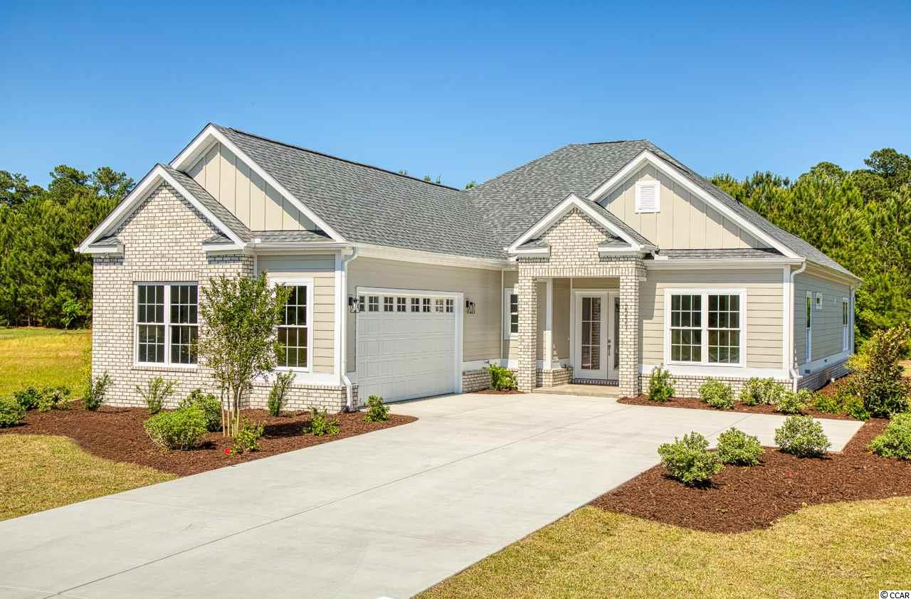 This beautiful new construction home is complete and ready for a lucky buyer! Located in the Wild Wing Plantation community that has a World class golf course and amenities is a must see. As you will enter this perfectly laid out open floor plan home will notice right away the upgrades and quality of work are above and beyond other larger builders in the area. This is a 100% custom home and it shows!. With LVP flooring throughout, upgraded countertops, soft close all wood cabinets, all showers are tile including a large shower tub combination in the master bedroom, custom wood shelving in all closets, large tray ceilings, crown molding and upgraded lighting package. The lot is a large and backed up to a private wooded area with lake views. Book your showing today as you will not be disappointed!.